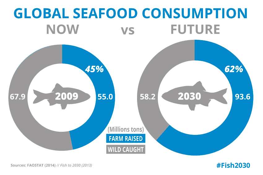 global seafood consumption fish 2030